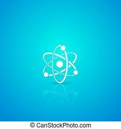atome, icône