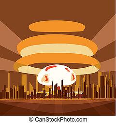 Atomic Nuclear boom