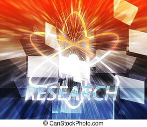 Atomic nuclear energy science