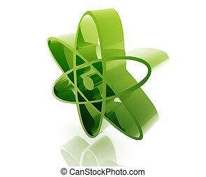 Atomic nuclear symbol