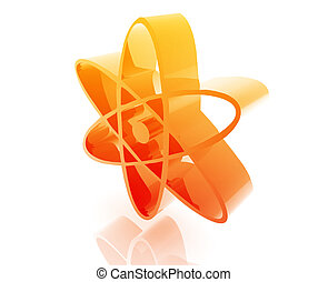 Atomic nuclear symbol