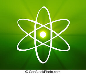 Atomic symbol - Atomic nuclear symbol scientific...
