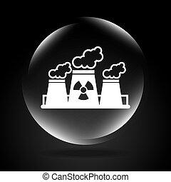 atomique, plante