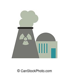 atomisk plant, energi, magt, tårn