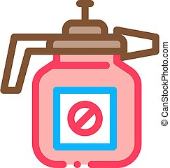Atomizer Tool Icon Vector Outline Illustration