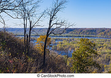 Atop Bluffs of Wyalusing and Mississippi River