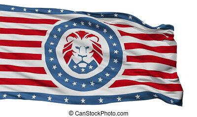 atout, drapeau, seamless, isolé, fête, blanc, boucle
