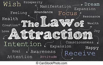 atracción, ley