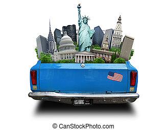 atracciones, estados unidos de américa, estados unidos de...