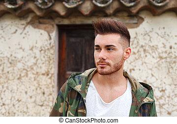 Atractive man