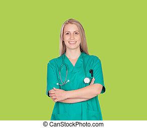 Atractive medical girl