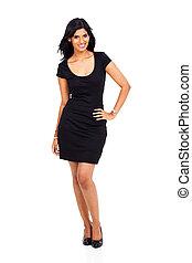 atraente, latino americano, mulher