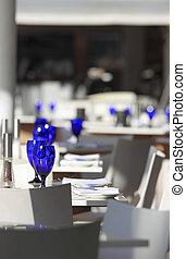att äta middag bordläggar