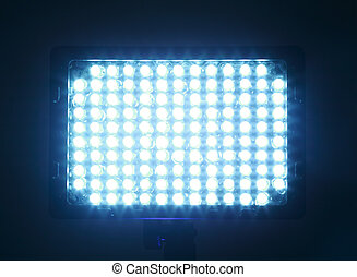 attachments to camera, constant light for video, LED, bright...