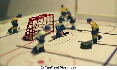 attack ice hockey table game