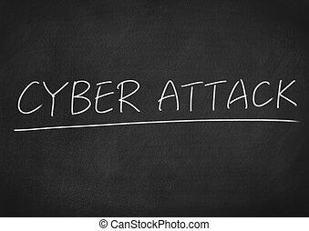 attaque, cyber