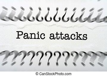 attaque, panique
