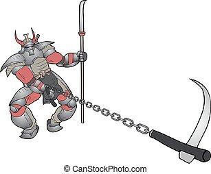 attaque, shogun