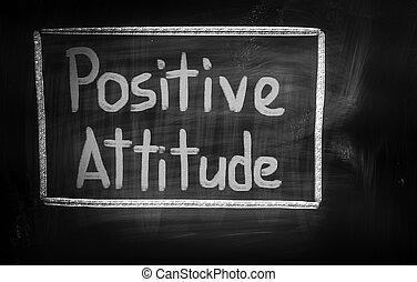 atteggiamento positivo, concetto