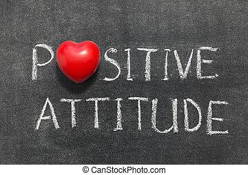 atteggiamento positivo