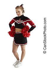 atteggiarsi, cheerleader