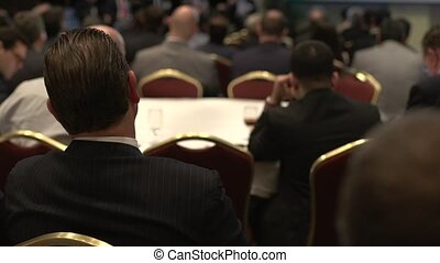 Attending a business conference (2 of 8)