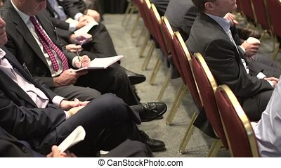 Attending a business conference (6 of 8)