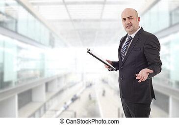 attente homme affaires