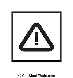 attention, alerte, signe