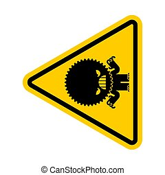 attention, danger, prudence, avertissement, signe.,...