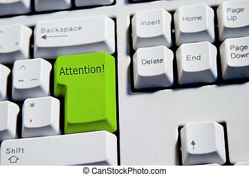 Attention Keyboard