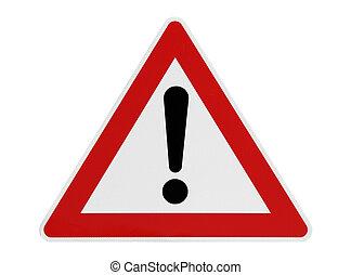 attention, panneaux signalisations