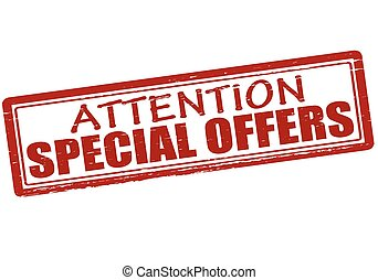 Attention special offers