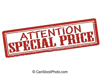Attention special price