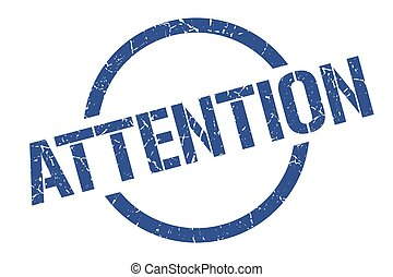 attention stamp