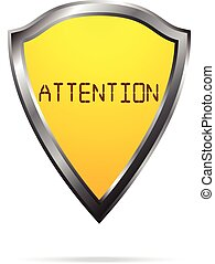 Attention web icon
