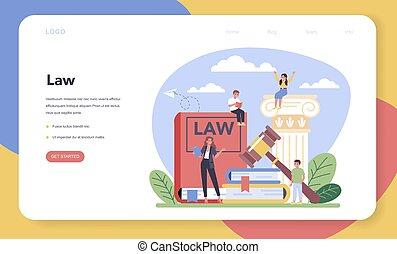 atterrissage, droit & loi, jugement, punition, classe, page...