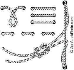 Attested document rope stitchs and loops - file filing ...
