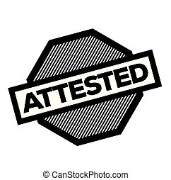 attested stamp on white - attested black stamp on white ...