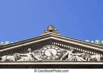 Attic clock