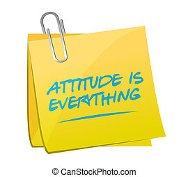 attitude is everything post message