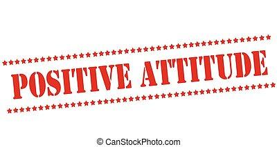 attitude, positif