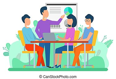 Attraction Capital, Business Collaboration Vector