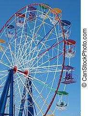 Attraction Ferris wheel