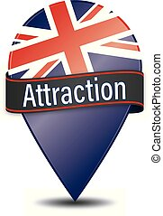 Attraction glossy web pointer