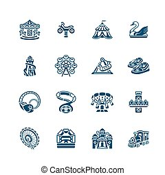 Attraction icons   MICRO series