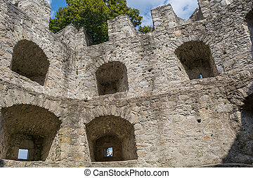 castle ruin Waxenberg - Austria
