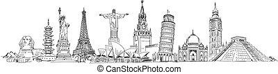 attractions, mondiale