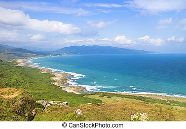 attractions., parque nacional, famosos, kenting, taiwan,...