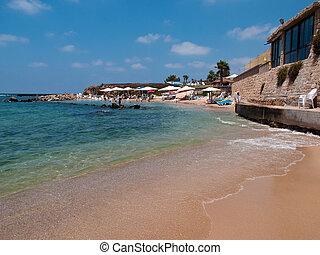 Attractive beach resort